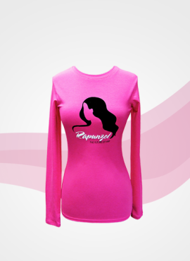 Long Sleeve Pink Tee